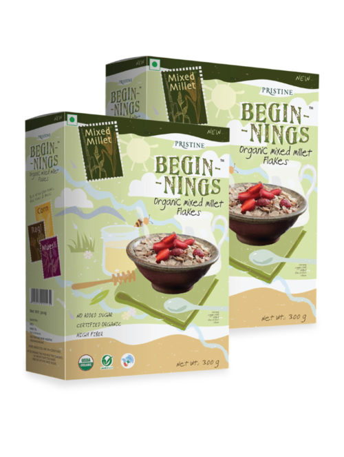 Organic Mixed Millet flakes_23- Pristine Organics