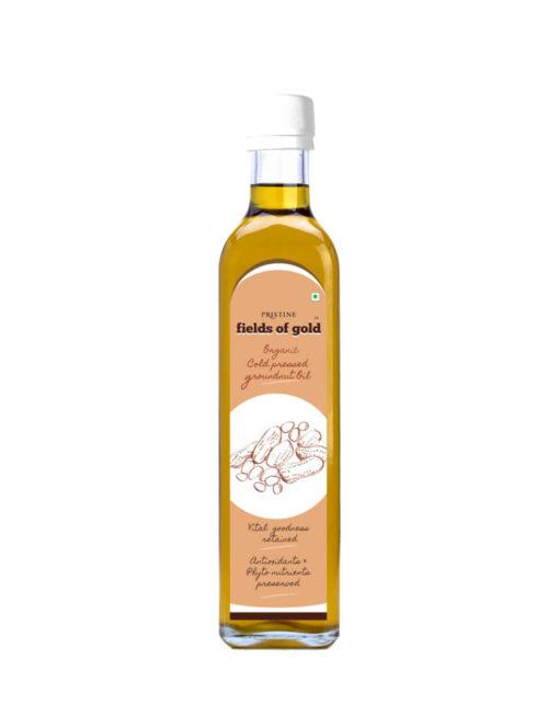 cold pressed groundnut oil - Pristine Organics