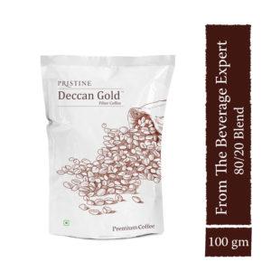 Deccan Gold Coffee,100 gm - filter coffee powder - Pristine Organics