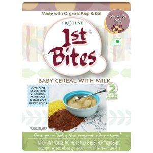 Organic Baby food- 1st-bites-ragi-dal pristine organics