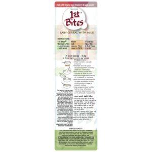 1st Bites - Ragi, Strawberry & Apple Powder (10 Months - 24 Months) Stage - 3, 300g (3)