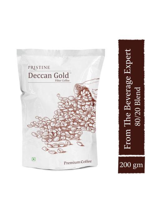 Deccan Gold Coffee,200 gm- Filter coffee powder - Pristine Organics