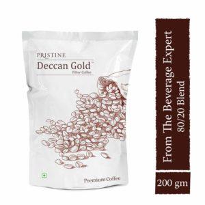 Deccan Gold Coffee, 200 gm- Filter coffee powder - Pristine Organics (1)