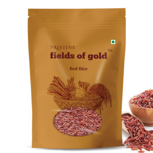 Buy Red Rice Online | Red rice,1kg | Whole Grain Rice - Pristine Organics