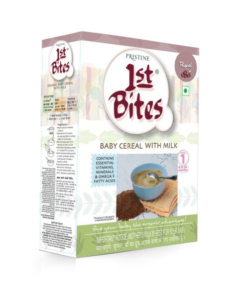 Organic Baby Food stage 1 - 1st bites ragi - pristine organics