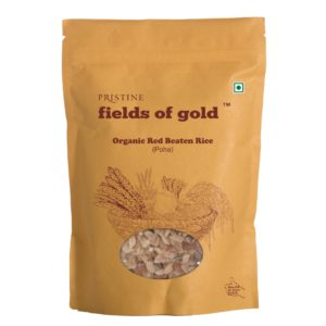 Buy Red Rice Flakes, 500g | Red Poha | Organic Poha - Pristine Organics
