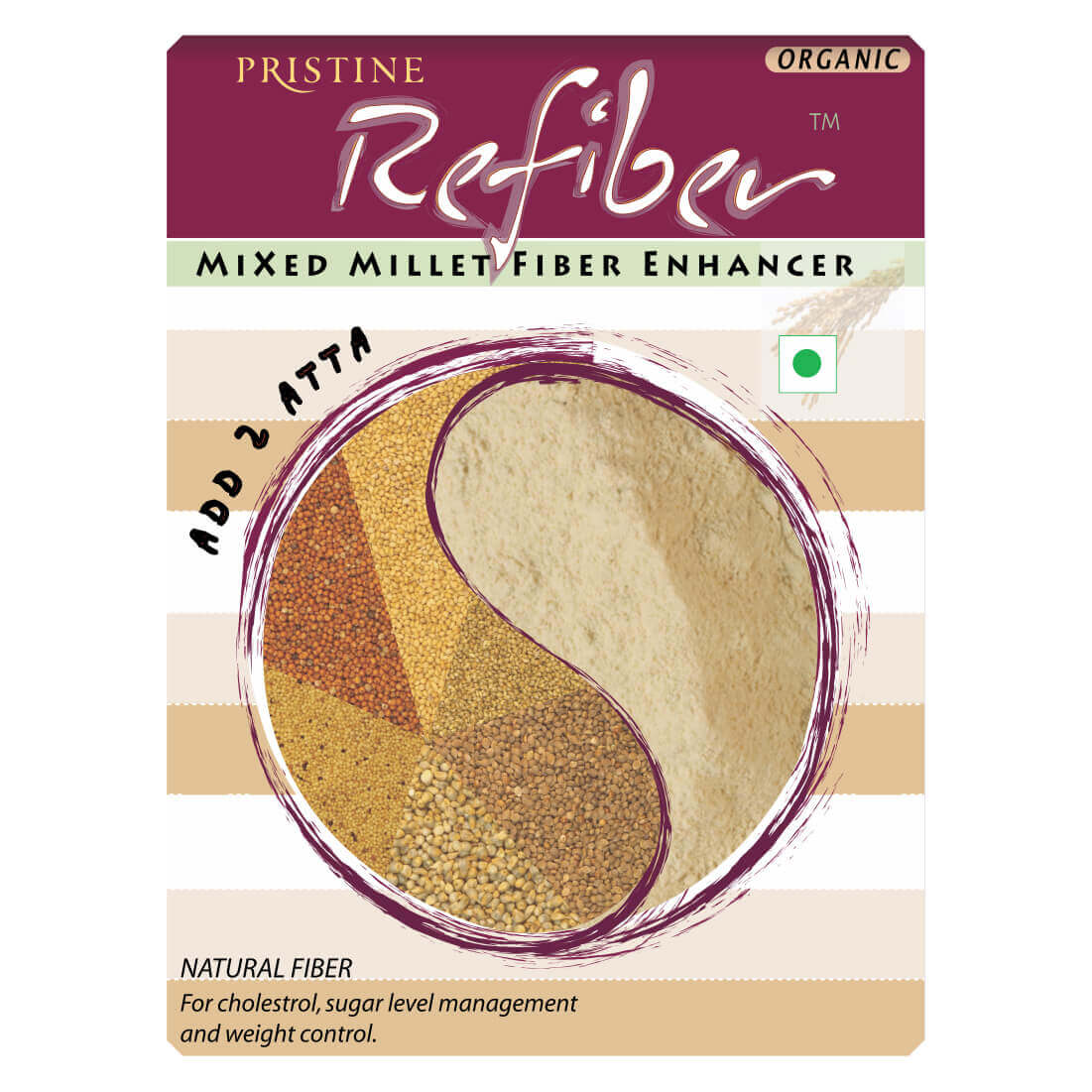 Refiber - Oragnic Mixed Millet Fiber Enhancer