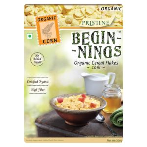 Beginnings Corn, Breakfast Cereal