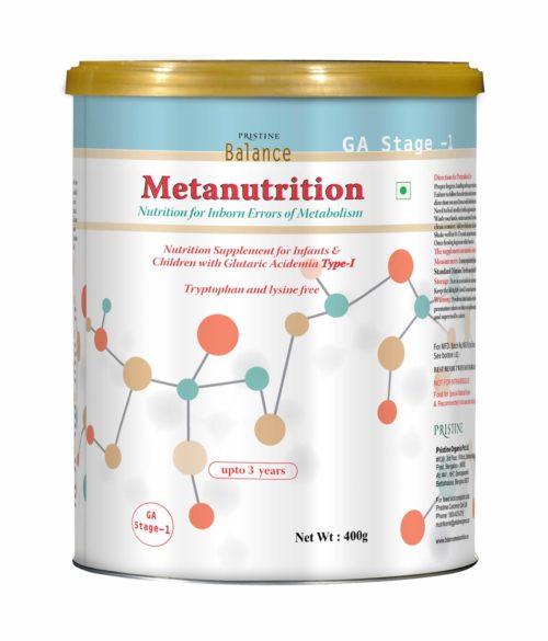 Pristine Balance Metanutrition, Inborn Errors Of Metabolism, GA Stage 1
