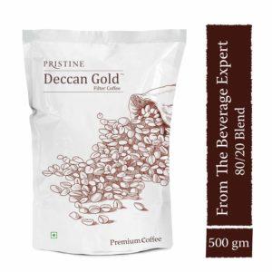 Indian filter coffee powder, 500g - deccan gold coffee - Pristine (1)