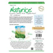 NATURICE – ORGANIC RICE CEREAL FOR CHILDREN