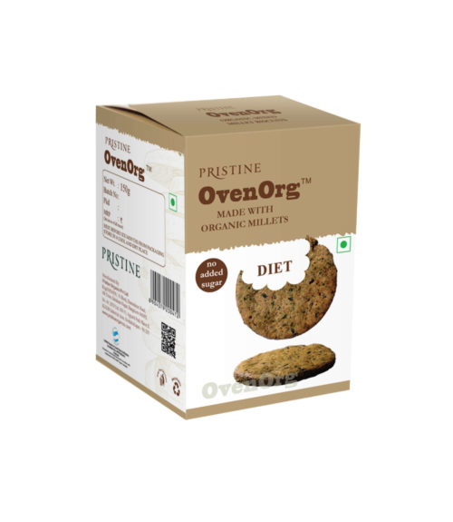 Buy Millet Biscuits Online | Diet Biscuits | Sugar Free | Pristine OvenOrg