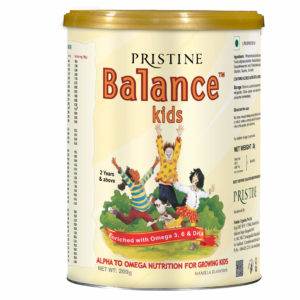 BALANCE KIDS VANILLA : ALPHA TO OMEGA NUTRITION FOR GROWING KIDS
