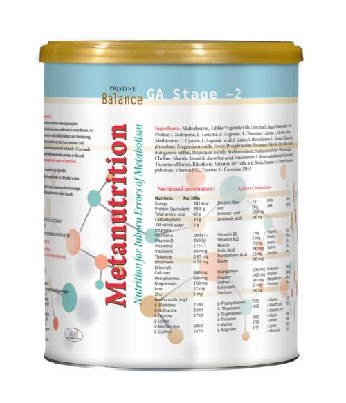 Balance Metanutrition, Inborn Errors of Metabolism,GA Stage - 2