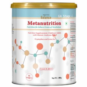Pristine Balance Metanutrition, Inborn Errors Of Metabolism, GA Stage 2