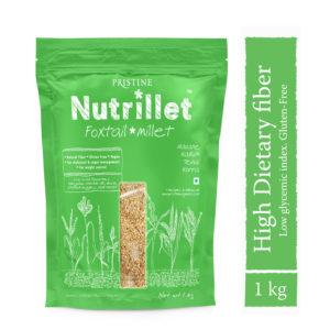 Foxtail Millet 1kg - Navane - Tenai- Korra - Pristine Nutrillet Millet