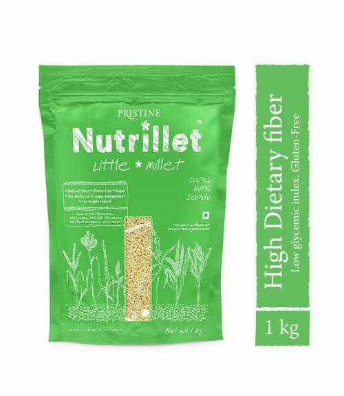 Little Millet 1kg - Samai- Kutki- Samalu - Pristine Nutrillet Millet