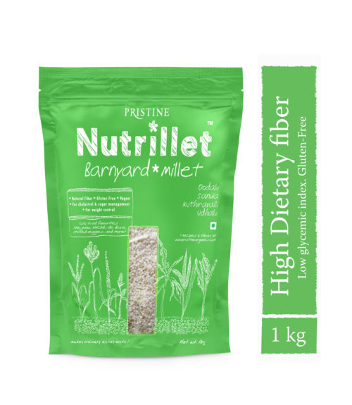 Barnyard millet 1kg - Oodalu -Sanwa- Pristine Nutrillet Millets