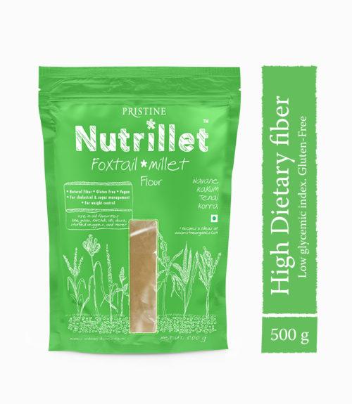Foxtail Millet Flour - Nutrillet Millet Flours - Pristine