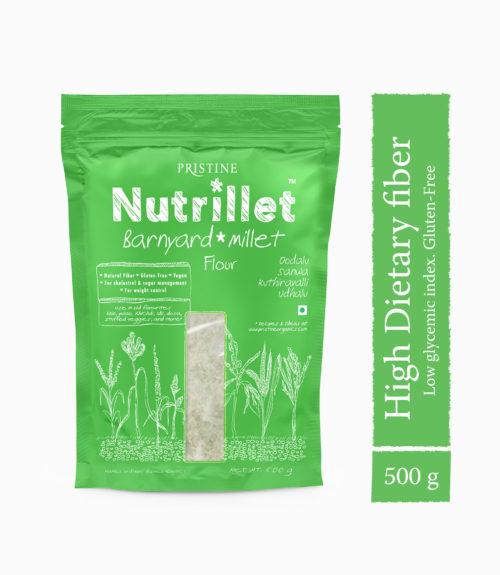Barnyard Millet Flour - Nutrillet Millet - Pristine