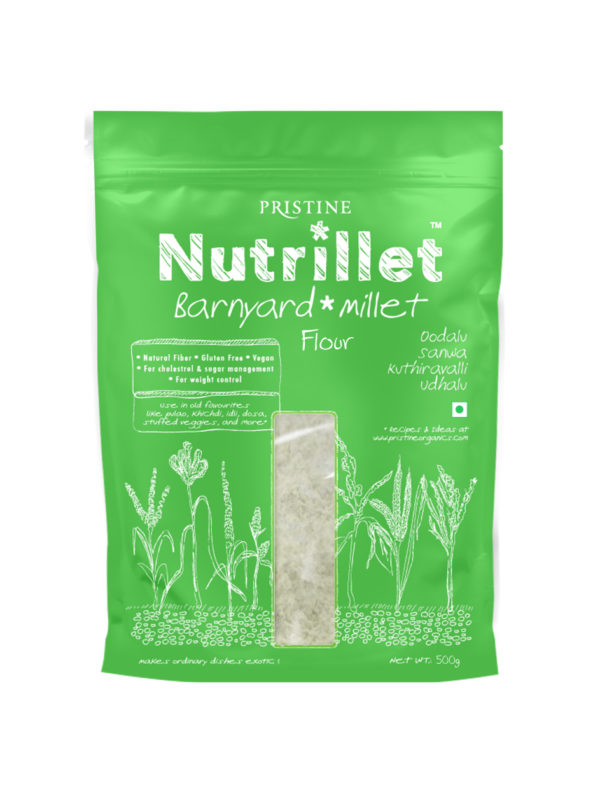 Barnyard Millet Flour, Oodalu, Sanwa, Kuthiravalli, Udhalu