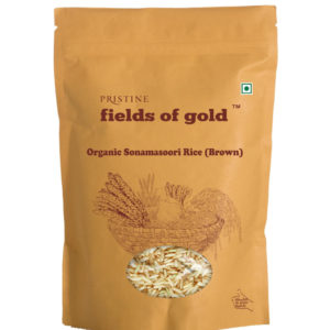 Organic Sonamasoori Rice | Buy Organic Brown Rice - Pristine Organics