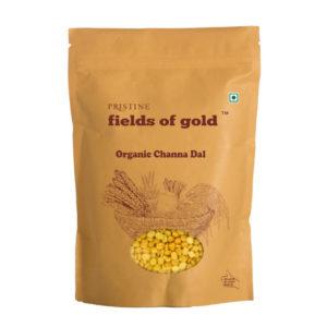 Buy Organic Chana Dal, 500g @ Rs 66 | Bengal Gram Split - Pristine Organics