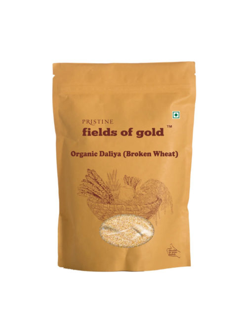 Buy Organic Daliya Online | Broken Wheat | Dalia - Pristine Organics