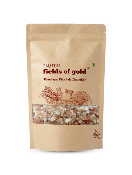 Himalayan Pink Salt Crystals (Granules) - Pristine Organics