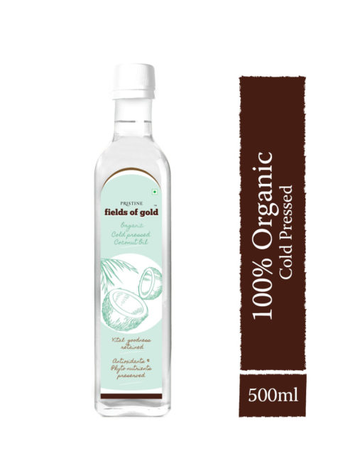 Buy Organic Cold Pressed Coconut Oil - 100% Certified Organics |