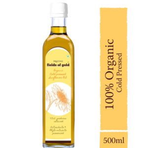 Organic Cold Pressed Sunflower Oil - 100% Certified Organic - Pristine Organics