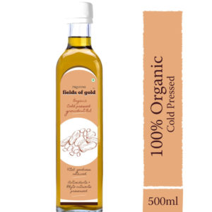 Organic Cold Pressed Groundnut Oil - Organic Groundnut Oil - Pristine Organics