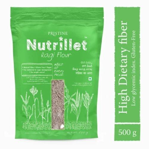 Buy Ragi Flour Online - Finger Millet Flour - Pristine Nutrillet Millet