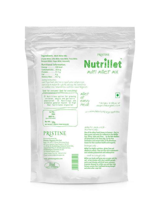 Multi Millet Mix - Nutrillet Millet -Pristine