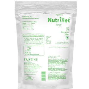 Ragi, finger millet - Nutrillet Millet - Pristine