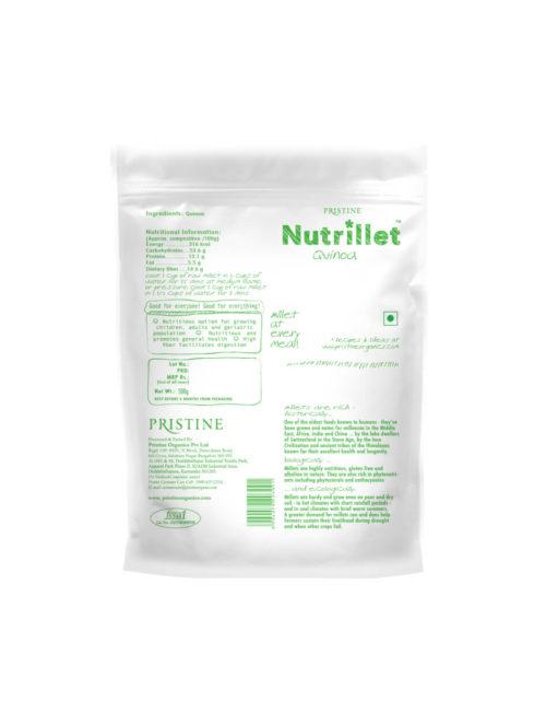 Nutrillet Quinoa - Pristine Organics
