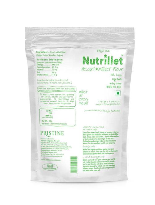 Pearl Millet Flour 01 - Nutrillet Millet Flour - Pristine