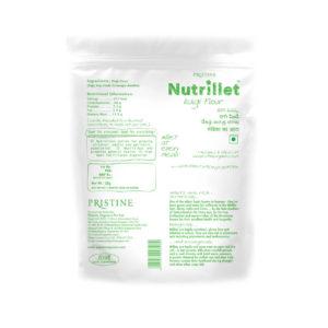 Nutrillet Ragi Flour- Pristine Organics