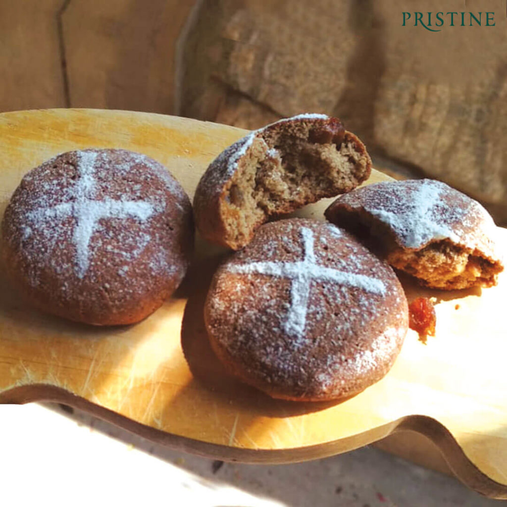 Hot cross buns - Pristine Organics