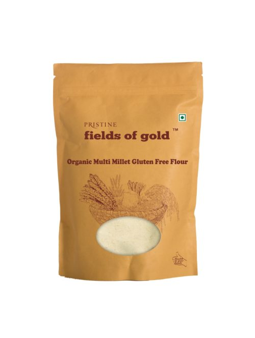 Organic multi millet flour - Organic Gluten free flour