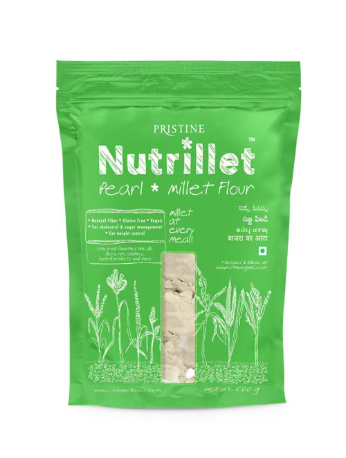 Pearl Millet Flour - Nutrillet Millet Flour - Pristine