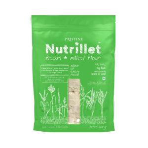 Buy Pearl Millet Flour Online | Sajje | Bajra Flour - Pristine Nutrillet Millet