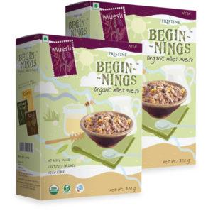 Organic Millet Muesli 023- Pristine Organics