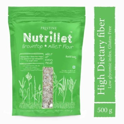 Buy Browntop Millet Flour Online - Korale Millet Flour - Pristine Organics
