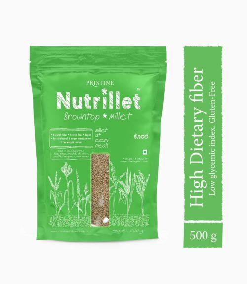 Buy Browntop Millet Online - Korale Millet - Pristine Organics