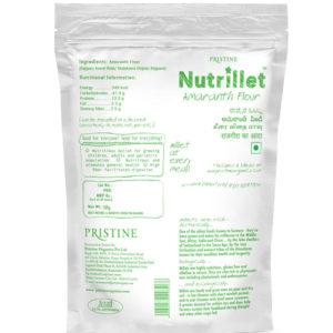 amaranth millet flour - Pristine Nutrillet Millets