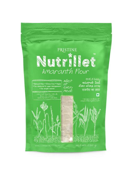 Amaranth Flour - Nutrillet Millets - Pristine