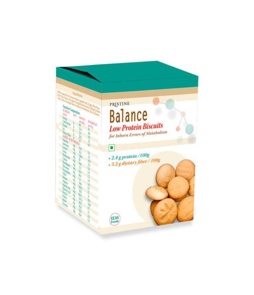 Low protein Biscuits 01- Pristine Metanutrition