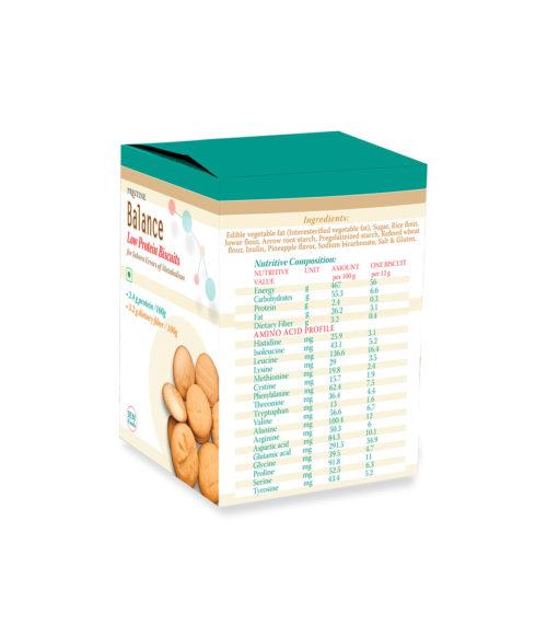 Low protein Biscuits - Pristine Metanutrition