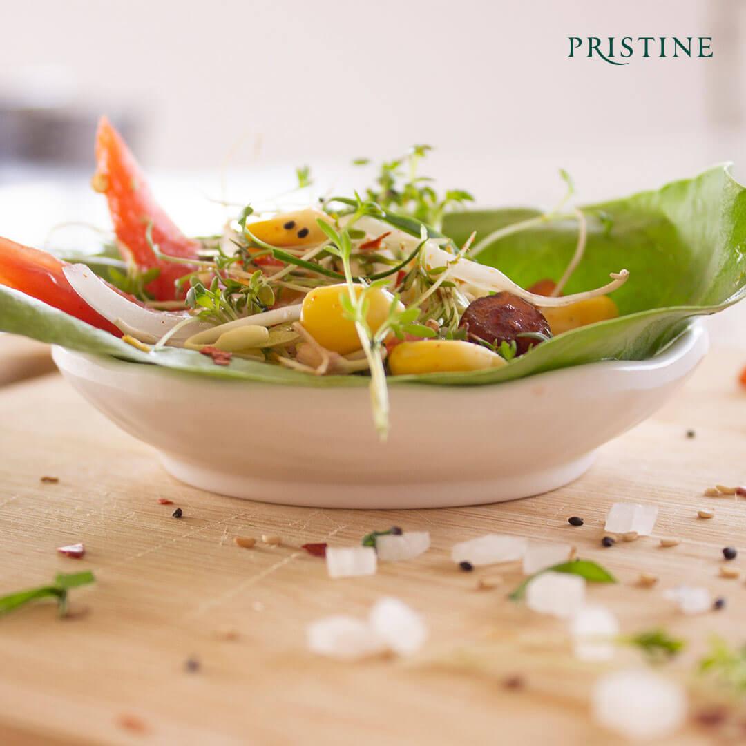 Garden Cress Salad